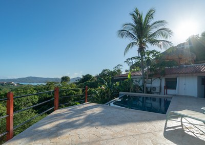 Pool Area of Casa Jungle - Jungle House - Flamingo Beach Costa Rica Luxury Rental .jpg