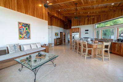 Interior of Casa Jungle - Jungle House - Flamingo Beach Costa Rica Luxury Rental.jpg