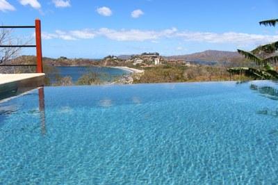Pool to Ocean View Flamingo Beach Rental