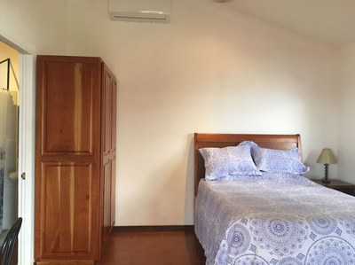 closet and bed of Ocean View Flamingo Beach Rental Property Costa Rica