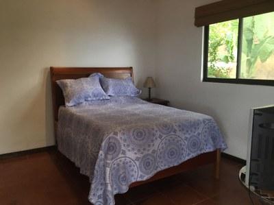 Matrimonial Bed of Ocean View Flamingo Beach Rental Property Costa Rica