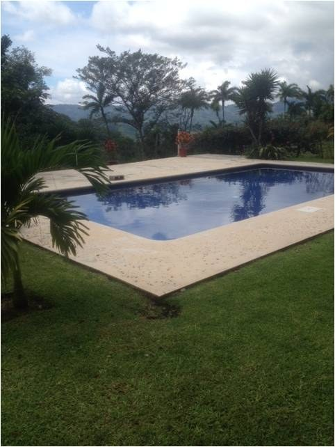 Rent furnished house with pool in Ciudad Colon Santa Ana