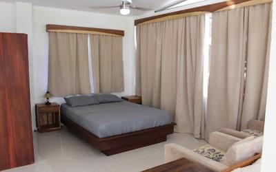 Casa Guana I - Efficiency Riverfront Residence for Rent in Surfside / Playa Potrero