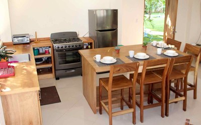 Casa Cedro-Kiitchen Costa Rica Modern Contemporary Rental Home in Gated Community
