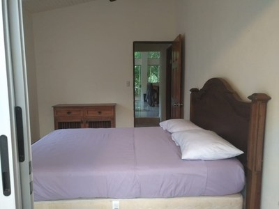 Bedroom 2 of Casa Cedro: Spacious 2 Bed 2 Bath Riverfront Residence for Rent in Surfside / Playa Potrero