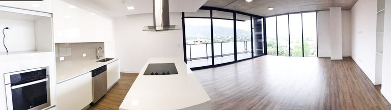 Modern Apartament for Rent with Appliances Beautiful View Escazu