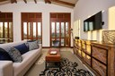 High Sealing Living Area of Luxury 5 Bedroom Oceanfront Residence in Guanacaste, Costa Rica