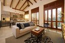 High Sealing Living Area with Open Kitchen of Luxury 5 Bedroom Oceanfront Residence in Guanacaste, Costa Rica