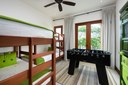 Children's Bunk Area of Luxury 5 Bedroom Oceanfront Residence in Guanacaste, Costa Rica
