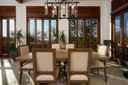 Dining Area of Luxury 5 Bedroom Oceanfront Residence in Guanacaste, Costa Rica