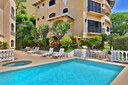 Pool, Jacuzzi and Terrace of This Panoramic Ocean View Penthouse Condominium