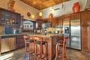 Open Kitchen of This Panoramic Ocean View Penthouse Condominium