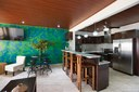 Open Kitchen of This Modern Ocean View Condominium at the Heart of Flamingo