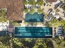 Areal View of the Adjacent Beach Club of This Modern Luxury Apartment with Private Pool