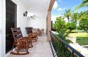 Private Veranda of This Ocean View Condominium with Private Veranda