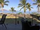 Covered Terrace of This Beachfront Ocean View Condo