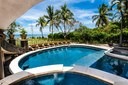 Pool, Jacuzzi and Lounging Area of Luxury 9 Bedroom Oceanfront Residence in Guanacaste, Costa Rica