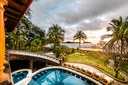 Lawn and Beach View of Luxury 9 Bedroom Oceanfront Residence in Guanacaste, Costa Rica