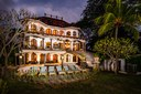 Night View of Luxury 9 Bedroom Oceanfront Residence in Guanacaste, Costa Rica
