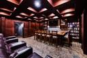 Media Room of Luxury 9 Bedroom Oceanfront Residence in Guanacaste, Costa Rica