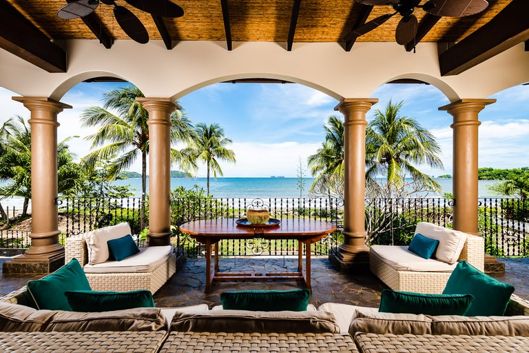 Casa Taj: Luxury 9 Bedroom Colonial Style Beachfront Residence for Rent