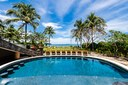 Pool and Lounging Area of Luxury 9 Bedroom Oceanfront Residence in Guanacaste, Costa Rica