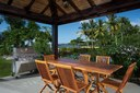 Outside Dining Area and BBQ of Luxury 7 Bedroom Oceanfront Residence in Guanacaste, Costa Rica