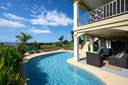 Pool and Lounging Area of Luxury 7 Bedroom Oceanfront Residence in Guanacaste, Costa Rica