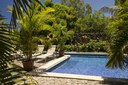 Pool and Lounging area of Luxury 5 Bedroom Oceanfront Residence in Guanacaste, Costa Rica