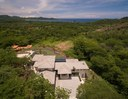 Aerial View of Luxury 5 Bedroom Villa with Panoramic Pacific Ocean View in Guanacaste, Costa Rica