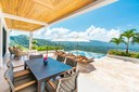Outside Dining Area of Modern Luxury 4 Bedroom  Ocean View Villa in Guanacaste, Costa Rica