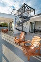 Deck with View of Modern Luxury 4 Bedroom  Ocean View Villa in Guanacaste, Costa Rica