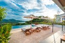 Pool Area of Modern Luxury 4 Bedroom  Ocean View Villa in Guanacaste, Costa Rica