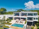 Aerial View of Modern Luxury 4 Bedroom  Ocean View Villa in Guanacaste, Costa Rica