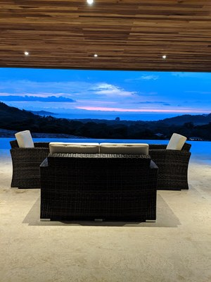 Pool Area of 3 Bedroom Luxury Villa With Ocean View in Guanacaste, Costa Rica