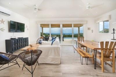 Living Area of 3 Bedroom Luxury Villa With Ocean View in Guanacaste, Costa Rica