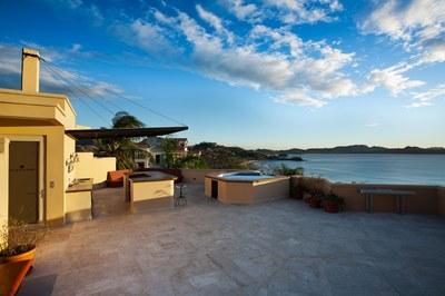 Rooftop Bar and Jacuzzi of Luxury 5 Bedroom Ocean View Villa in. Guanacaste, Costa Rica