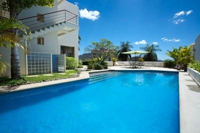 Pool Area of Luxury 5 Bedroom Ocean View Villa in. Guanacaste, Costa Rica
