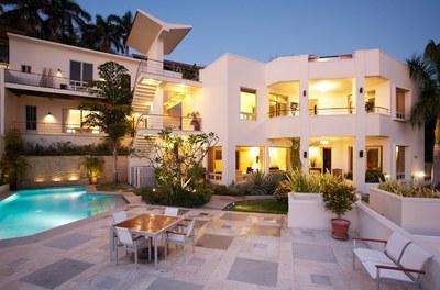 Exterior of Luxury 5 Bedroom Ocean View Villa in. Guanacaste, Costa Rica