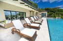 Pool of Luxurious Ocean View Villa in Flamingo, Guanacaste