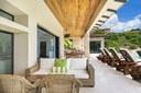 Outdoor Patio of Luxurious Ocean View Villa in Flamingo, Guanacaste