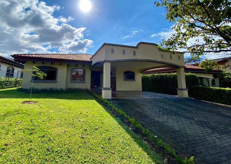 House for Rent Condominium Oro Sol Santa Ana Costa Rica One Floor