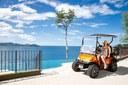 Golf Carts Of Modern Multiple Ocean View Luxury Condominium in Flamingo, Costa Rica