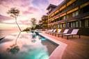 Exterior of Beautiful Modern Luxury Ocean View Condominium for Rent in Flamingo, Guanacaste