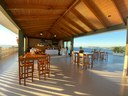 Rooftop Terrace of Beautiful Modern Luxury Ocean View Condominium for Rent in Flamingo, Guanacaste