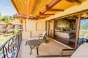 Terrace of Luxury Ocean View and Access Villa in Flamingo, Guanacaste