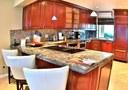 Kitchen of Beachfront 2 bedroom Luxury Villa for Rent in Playa Flamingo, Guanacaste