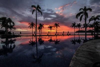 Exterior of Beachfront 2 Bedroom Luxury Villa for Rent in Playa Flamingo, Guanacaste
