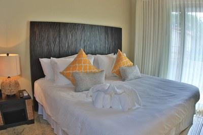 Bedroom of Beachfront 2 bedroom Luxury Villa for Rent in Playa Flamingo, Guanacaste