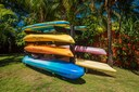 Kayaks of Ocean View and Ocean Access Villa on Playa Potrero, Guanacaste